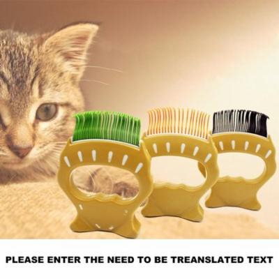 Pet Hair Trimmer Comb Elegant Hair Removing Shell Comb Portable Grooming Tool Massage Comb