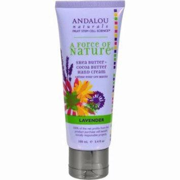 Andalou Naturals Hand Cream Lavender Shea - 3.4 Fl Oz