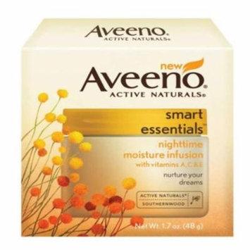 Aveeno Smart Ess Night Cream 1.7 Oz