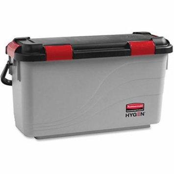 RCP1863892 - Executive Microfiber Charging Mop Bucket, Gray/black, Plastic, 10.5wx25dx13.5h