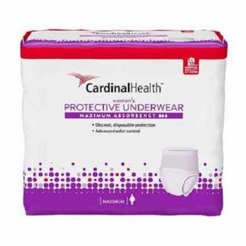 Cardinal Maximum Absorbency Protective Underwear for Women, Large, 45 - 58