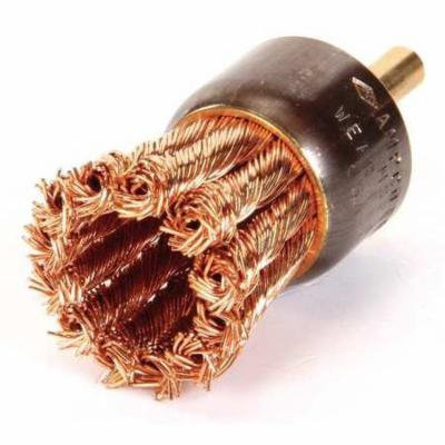 AMPCO Knot Wire End Brush,Carbon Steel EB-1K