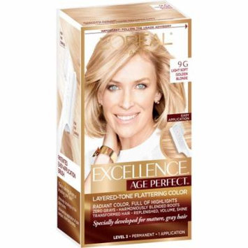 L'Oreal Paris Excellence Age Perfect Permanent Layered-Tone Flattering Color, Golden Blonde 1.0 ea(pack of 3)