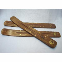 2 of Wood Stick Incense Burners