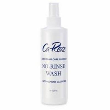 Carezz No-Rinse Incontinence Cleanser Liquid 8 oz. Pump Bottle Scented EA/1