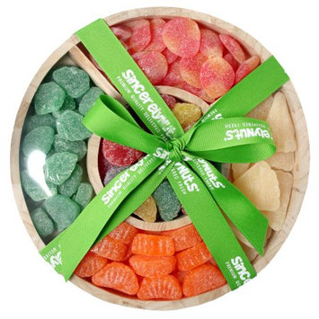 Sincerely Nuts Candy Fruit Gift Tray