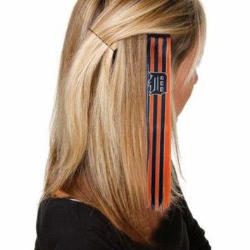 MLB Detroit Tigers Ladies Orange-Navy Blue Sports Extension Hair Clips