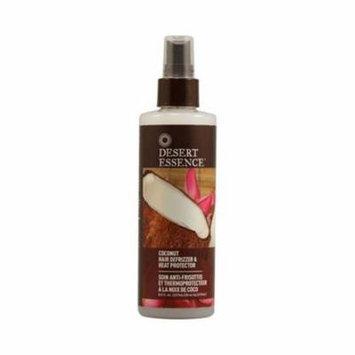 Desert Essence HG1085844 8.5 fl oz Hair Defrizzer & Heat Protector Coconut