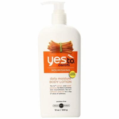 Yes To Carrots Moisturizing Body Lotion, 12 Fl Oz + Beyond BodiHeat Patch, 1 Ct