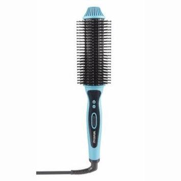 Vivitar Ceramic Hair Curling/Straightening Brush, Aqua