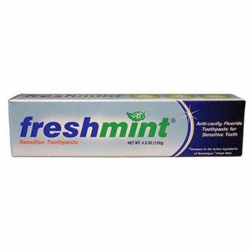 Freshmint sensitive toothpaste, 4-2/7 oz. part no. tps43 (24/case)