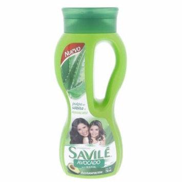 Savile Avocado Hair Restoring Shampoo 750ml - Savile Aguacate Restauracion Champu (Pack of 3)