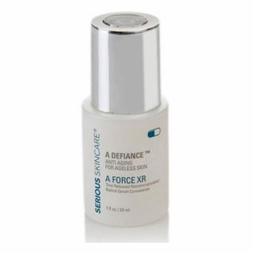 Serious Skincare A Force XR Retinol A Defiance Serum Concentrate, Formulated with nanofied Vitamin A (retinol) for superior penetration By Serious Skin Care