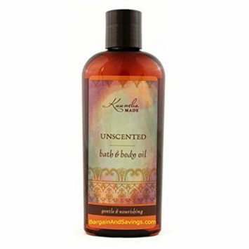 Kuumba Made Bath and Body Oil, Unscented, 6 Ounce Regular Size Bottle