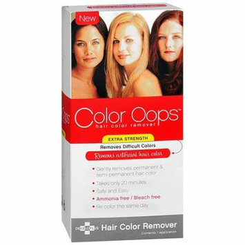 Color Oops Extra Strength Hair Color Remover 1.0 Application(pack of 2)