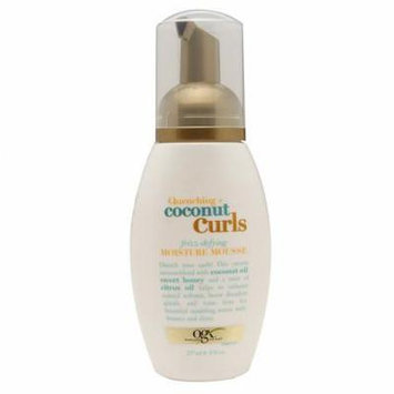 OGX Quenching Coconut Curls Moisture Mousse 8.0 oz.(pack of 2)