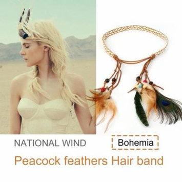 Jewelry Hair Ornaments Classic Festival Feather Headband Hippie Headdress Hair Accessories Boho