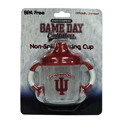 Lil Indiana Hoosiers Fan No Spill Sippy Cup