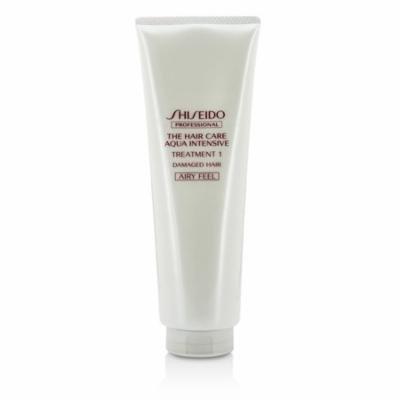Shiseido - The Hair Care Aqua Intensive Treatment 1 - # Airy Feel (Damaged Hair) -250g/8.5oz