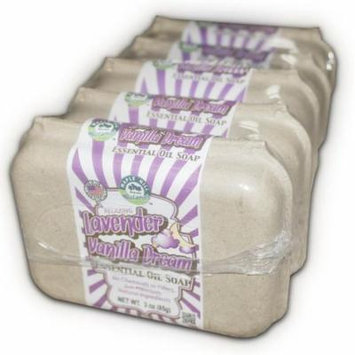 Maple Hill Naturals: Lavender Vanilla Dream Natural Soap, 5 Bar Pack