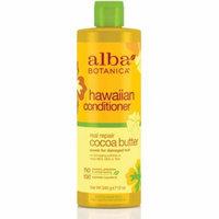6 Pack - Alba Botanica Real Repair Cocoa Butter Hawaiian Conditioner, 12 oz