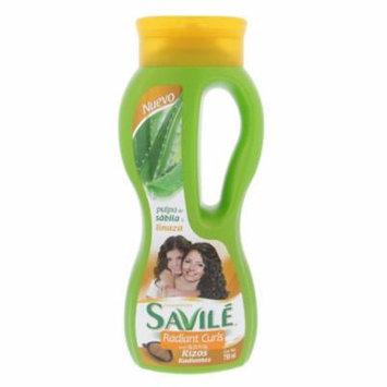 Savile Radiant Curls Shampoo 750ml - Rizos Radiantes Champu (Pack of 12)