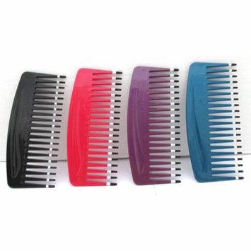 Volume Comb V300 Color: Purple, Pick, pik, plastic, won't hurt your scalp or head, detangler, no more..., Every Use and Hair Lengt, By Mebco