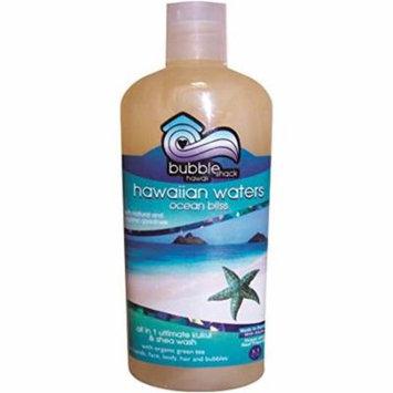 Hawaii Bubble Shack All in 1 Ultimate Kukui & Shea Body Wash Ocean Bliss 4 Bottles