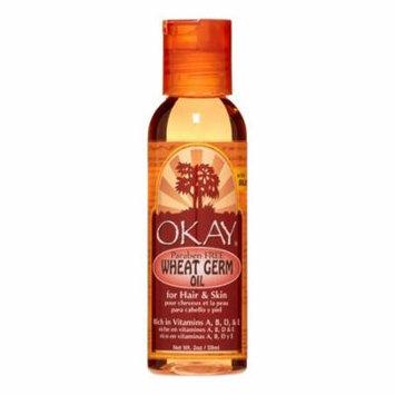 Okay Wheat Germ Oil For Hair & Skin Paraben Free, 2 Oz