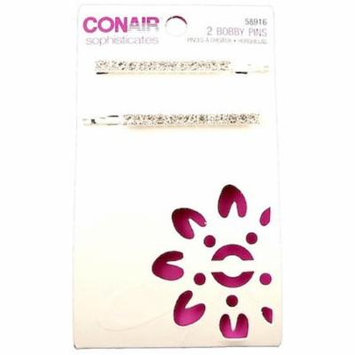 Conair Sophisticates Bobby Pins 2 ea (Pack of 2)