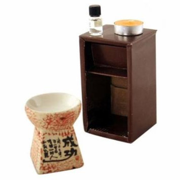 Feng Shui Zen Essential Oil Burner OLBA3D