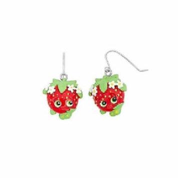 Shopkins Strawberry Kiss Earring 2 Pc Set + Schick Slim Twin ST for Sensitive Skin