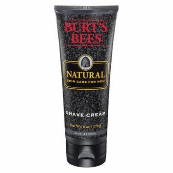 Burt's Bees Natural Skin Care for Men Shave Cream 6.0 fl oz(pack of 3)