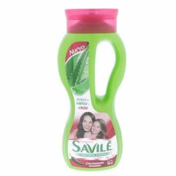 Savile Healthy Growth, Chili Extract Shampoo 750ml - Savile Chile Crecimiento Champu (Pack of 2)