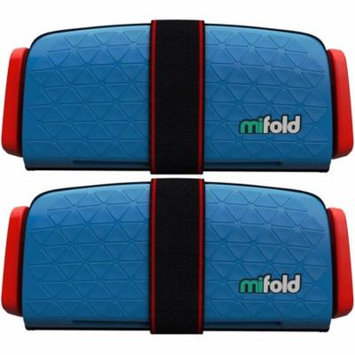 Mifold 2-Pack MF01-US/DBL Grab-and-Go Car Booster Seat (Denim Blue)