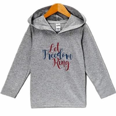 Custom Party Shop Kid's Let Freedom Ring 4th of July Hoodie Pullover - 3T