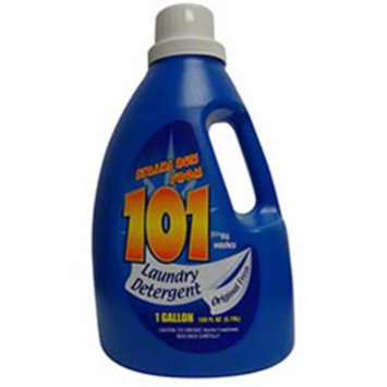 CPC 101F 1 gal 101 Laundry Detergent Fresh Scent with 64 Loads Case of 4