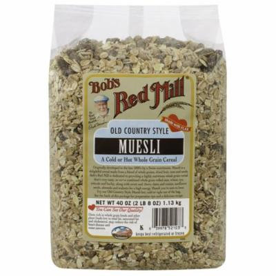 Bob's Red Mill, Old Country Style Muesli, 40 oz (pack of 1)