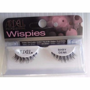 (Pack of 4 Pairs) Ba Demi Wispies, Black, Includes: 4 Pairs By Ardell