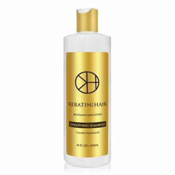 Keratin For Hair Smoothing daily use Shampoo SULFATE FREE protect Color Enhance Hair Growth prevent Hair Loss Champu Suavizante 16 fl oz