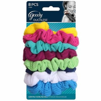 3 Pack - Goody Ouchless Jersey Variety Scrunchies, Assorted Colors 8 ea