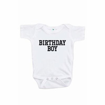 7 ate 9 Apparel Boy's Birthday Boy Onepiece - 3-6 Month Onepiece