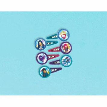 Descendants 2 Glitter Hair Barrettes / Favors (12pc)