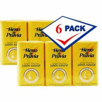 Heno De Pravia set of 6 body soaps 4 oz