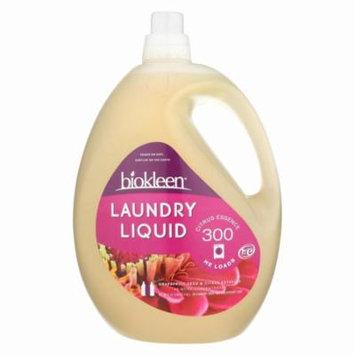 Biokleen Liquid Laundry Detergent - Grapefruit And Citrus - Pack of 3 - 150 Fl Oz.