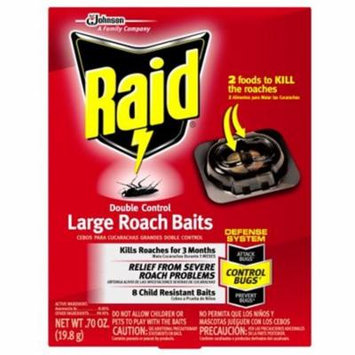 Sc Johnson 1248004 Bait Large Roach Double Control