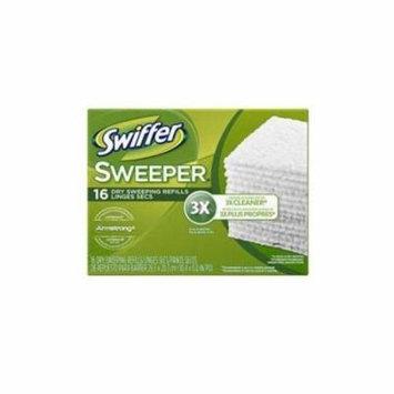 PROCTER & GAMBLE Swiffer Sweeper Dry Cloths Regular 16ct