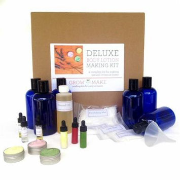 Deluxe DIY Body Lotion Making Kit - Make 6 bottles of home made lotions