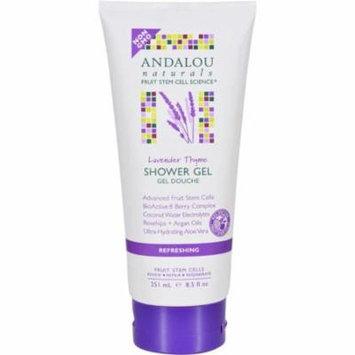 Andalou Naturals HG1599547 8.5 fl oz Lavender Thyme Refreshing Shower Gel