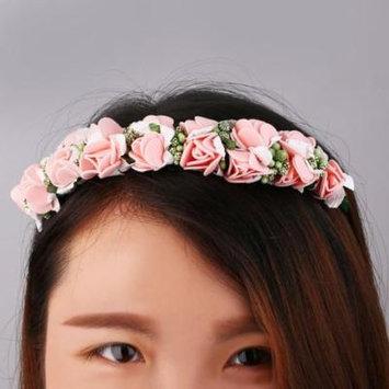 Flower Garland Floral Bridal Headband Hairband Wedding Prom Hair Accessories Jewelry Hair Accessories